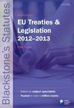 Blackstone's EU Treaties & Legislation 2012-2013