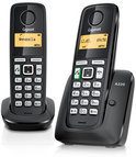 Gigaset A220 - Duo DECT telefoon - Zwart