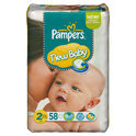 Pampers New Baby - Luiers Maat 2 - mini dry max 58st