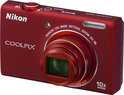 Nikon Coolpix S6200 - Rood