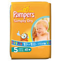 Pampers Simply Dry - Luiers Maat 5 - Voordeelpak 41st