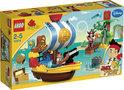 LEGO Duplo Jake's Piratenschip Bucky - 10514