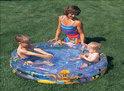 Bestway 3 Rings Opblaasbaar Zwembad -  Ocean Life - 122x25 cm