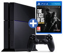 Sony PlayStation 4 Console 500GB + 1 Wireless Dualshock 4 Controller + The Last Of Us: Remastered - Zwart PS4 Bundel