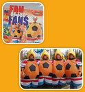 Oranje succes Holland opblaaskostuum volwassen uitvoering inclusief hoed