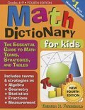 Math Dictionary for Kids, 4e