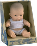 Miniland Babypop Aziatisch Meisje - 21 cm