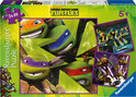 Ninja Turtles Puzzel - De Vier Turtles