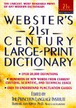 Websters 21St Large Print Dictionary