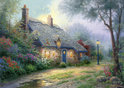 Kinkade Moonlight Cottage