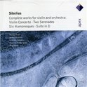 Sibelius: Complete works for violin and orchestra / Fried, Kuusisto et al