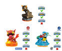 Skylanders Giants Battle Pack Zap, Scorpion Striker Catapult, Hot Dog Wii + Wii U + PS3 + Xbox 360 + 3DS