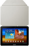 Book Cover voor Samsung Galaxy Tab 8.9 - Ivory (EFC-1C9NIECSTD)