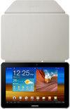 Book Cover voor Samsung Galaxy Tab 8.9 - Ivory (EFC-1C9NIECSTD)