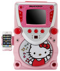 Hello Kitty Super Karaoke met display