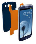 Tech21 D3O Impact Snap Case Blauw Samsung Galaxy S3
