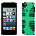 Speck CandyShell Grip - Beschermhoes voor de Apple iPod Touch 5 - Sour Apple Green / Black