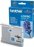 Brother LC-970C - Inktcartridge / Cyaan