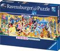 Ravensburger Panorama Puzzel - Disney Groepsfoto