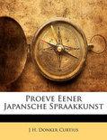 Proeve Eener Japansche Spraakkunst