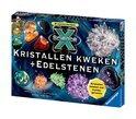 Science X Kristallen Kweken en Edelstenen - Experimenteerdoos