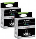 Lexmark 100XL Inktcartridge - Zwart