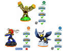 Skylanders Giants Adventure Pack Sprocket, Sonic Boom, Stump Smash Wii + PS3 + Xbox360 + 3DS + Wii U