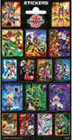 Stickers Bakugan 3