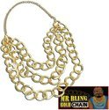 Mr. Bling gouden ketting 3 laags