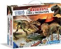 Clementoni Archeospel T-Rex & Triceratops