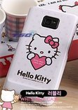 HELLO KITTY SANRINO HARD COVER DESIGN HOESJE GALAXY S3
