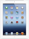 Apple iPad - met Retina-display - met 4G - 32GB - Wit - Tablet