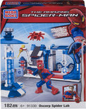 Mega Bloks The Amazing Spider-Man Oscorp Spider Lab
