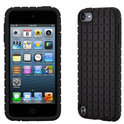 Speck PixelSkin - Beschermhoes voor Apple iPod Touch 5 - Zwart