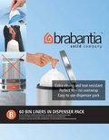 Brabantia Afvalzakken - 5 l - Code B - 60 stuks/dispenser pack
