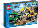 LEGO City Graafmachinetransport - 4203