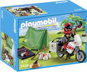 Playmobil Kampeerder met Motorfiets - 5438