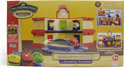 Chuggington Hout - Dubbel-Dekker Remise Speelset