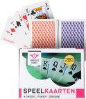 Longfield Poker / Bridge Speelkaarten - Plastic - Kaartspel