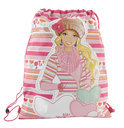 Winter delight, Barbie tas met trekkoord
