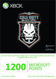 Microsoft Xbox Live 1200 Microsoft Punten Call Of Duty: Black Ops 2 Xbox 360