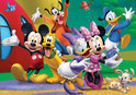 Disney Mickey Mouse Club House Puzzle tube (Incl. poster)