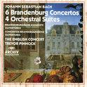 Bach: 6 Brandenburg Concertos, 4 Suites / Trevor Pinnock