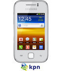 Samsung Galaxy Y (S5360) - Wit - KPN prepaid telefoon