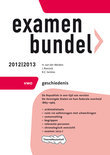 Examenbundel vwo  / Geschiedenis 2012/2013