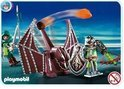 Playmobil Groene Drakenridders met Katapult - 4840