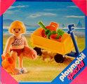 Playmobil Meisje met bolderwagen  - 4755