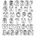 Wilton Garneergerei Uppercase cijfer- en letteruitstekerset