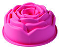 PavonIdea Bouquet - Siliconen Bakvorm Roos  21,5 cm - Roze