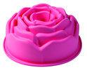 PavonIdea Bouquet - Siliconen Bakvorm Roos Ø 21,5 cm - Roze